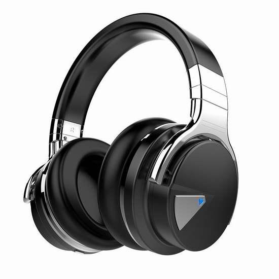 COWIN E7 主动降噪 Hi-Fi重低音 蓝牙无线耳机 59.99加元限量特卖并包邮!