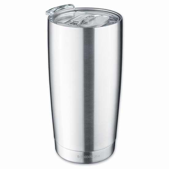 Isosteel 双层真空不锈钢保温杯5折 9.99加元限量特卖!