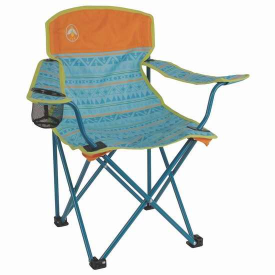 白菜价!历史新低!Coleman 2000025292 儿童折叠椅3折 9.96加元清仓!