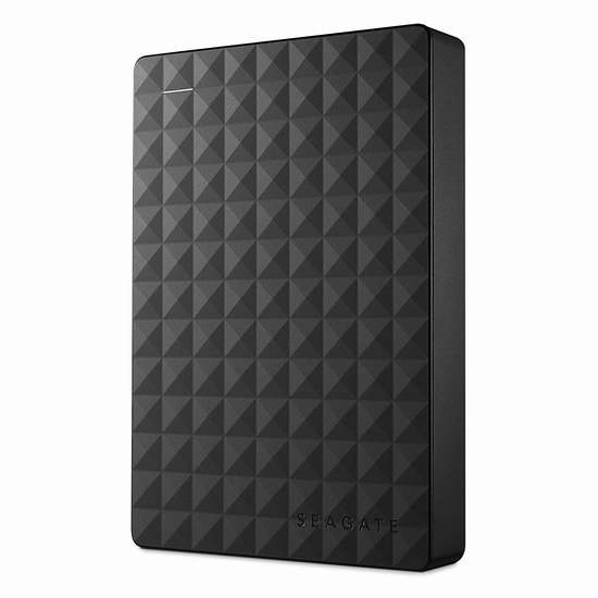 近史低价!Seagate 希捷 Expansion 新睿翼 STEA4000400 4TB 2.5英寸便携式移动硬盘 119.92加元包邮!