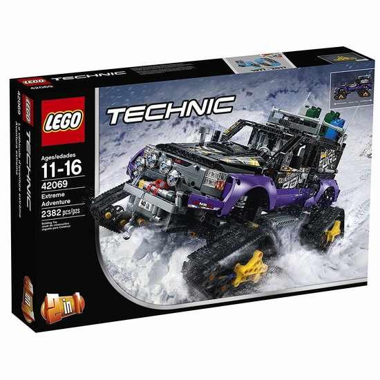 LEGO 乐高 42069 科技机械系列 极地探险车(2382pcs)6.9折 164.99加元包邮!