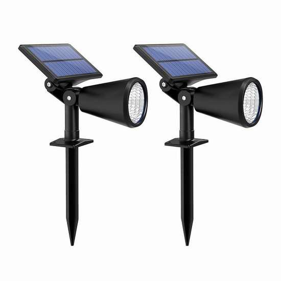 Litom 太阳能室外照明灯 29.24加元限量特卖并包邮!
