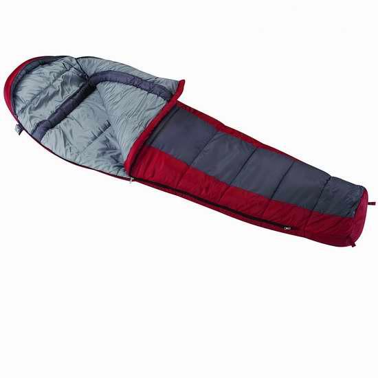 历史新低!Wenzel Windy Pass 零下18度超轻保暖睡袋5.3折 38.9加元包邮!