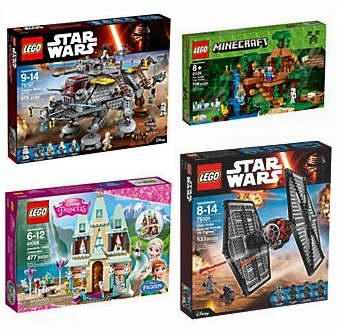 精选38款 Lego 乐高积木玩具套装全场6.7折清仓!低至8.77加元!