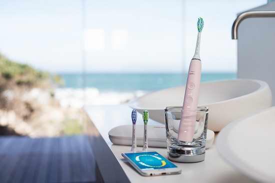 新一代 Philips 飞利浦 HX9903 钻石亮白 蓝牙智能系列 声波震动牙刷 188.96加元包邮!