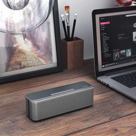 历史新低!Aukey 增强低音 便携式无线蓝牙音箱 39.19加元包邮!