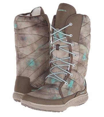 歷史新低!Merrell 邁樂 Pechora 女式長筒冬靴2.5折 46.08加元起包郵!