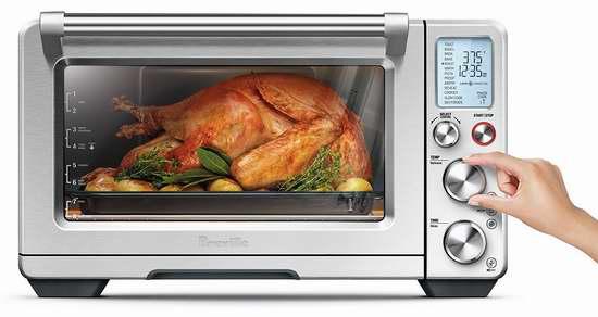 历史新低!Breville BOV900BSS 大号 不锈钢智能对流电焗炉/电烤箱 399.99加元包邮!