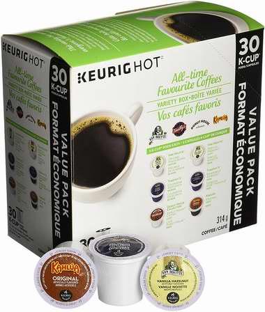 精选9款 Keurig、Van Houtte、Timothy's World Coffee 品牌K-Cup咖啡胶囊30粒装 全部仅售12.99加元!