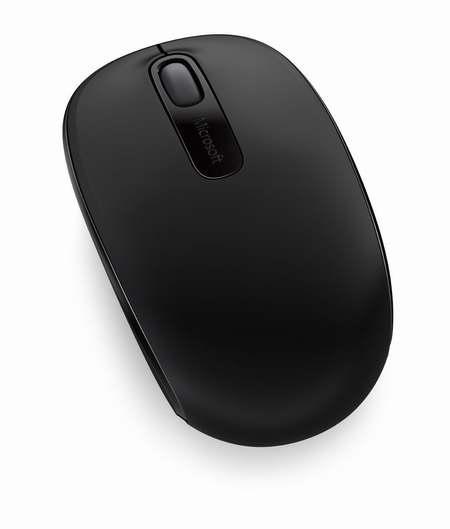 Microsoft 微软 1850 黑色无线便携鼠标 11.99加元!