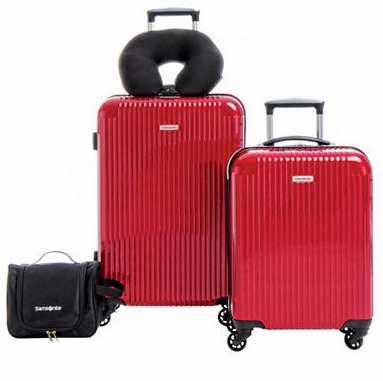 今日闪购:精选多款 Samsonite 等品牌行李箱3.5折起特卖!图示新秀丽4件套仅售227.5加元包邮!