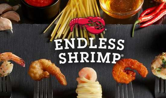 Red Lobster 红龙虾海鲜餐厅 Endless Shrimp虾餐任食吃到饱 又来了!