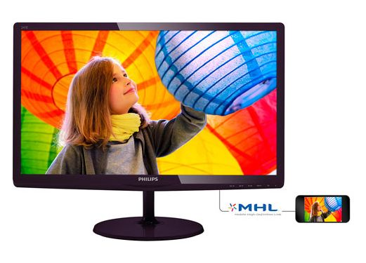 历史最低价!Philips 飞利浦 247E6QDSD 24英寸IPS液晶显示器 149.99加元包邮!
