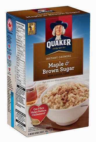 历史新低!Instant Quaker Oats 速溶即食早餐营养燕麦片6盒超值装 8.51-10.02加元!