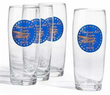 速抢!DISTINCTLY HOME 复古啤酒杯/玻璃杯4件套2折 5.99加元包邮!