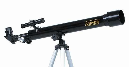 近史低价!Coleman AT50 Astro Watch 625x50 折射天文望远镜5.5折 39.83加元包邮!