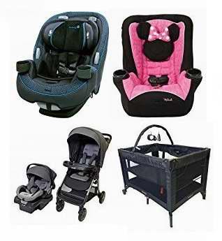 精选32款 Safety 1st、Cosco、Disney 等品牌婴儿推车、婴儿提篮、汽车安全座椅、游戏床、婴幼儿餐椅等特价销售,售价低至17.99加元!