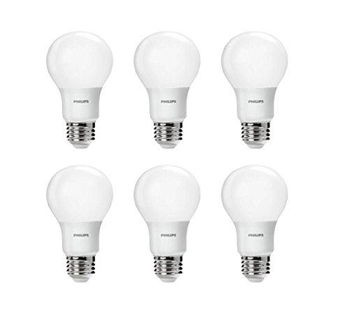 历史新低!Philips 飞利浦 459024 60瓦等效 LED节能灯6件套5.6折 19.87加元!