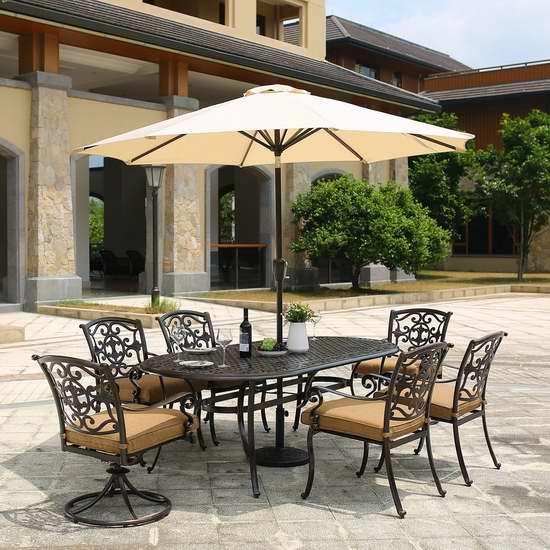 Domi Outdoor Living 9英尺庭院遮阳伞/太阳伞 84.99加元限量特卖并包邮!