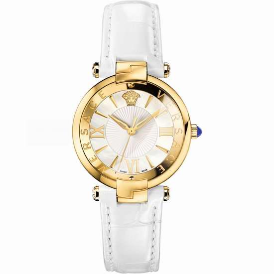 历史新低!Versace 范思哲 REVE VAI030016 瑞士石英 女士腕表5.4折 972.82加元包邮!