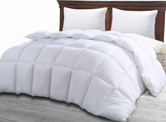 Utopia Bedding 超柔软防过敏King仿羽绒被 39.99加元,原价 47.99加元,包邮