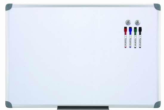 Quartet 3413803767 Euro 磁性干擦板套装5.1折 24.49加元限量特卖并包邮!
