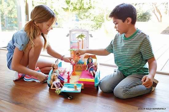 历史最低价!Barbie 芭比 终极狗狗变形房车5折 39.97加元包邮!