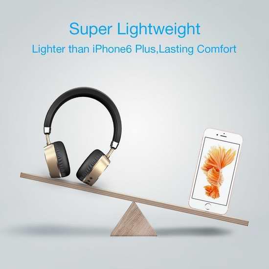 Meidong 头戴式超轻盈 蓝牙无线降噪耳机 36.54加元限量特卖并包邮!