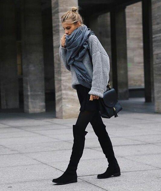 平价美靴,显腿长!Dolce Vita Neely 麂绒过膝靴 116.9加元,原价 259.81加元