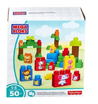 白菜价!历史新低!Mega Bloks 动物家庭 积木套装(50pcs)2.5折 4.97加元清仓!