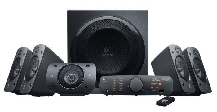金盒头条:Logitech Z906 旗舰级 家庭影院5.1 环绕立体声音箱套装 291.99加元,原价 499.99加元,包邮