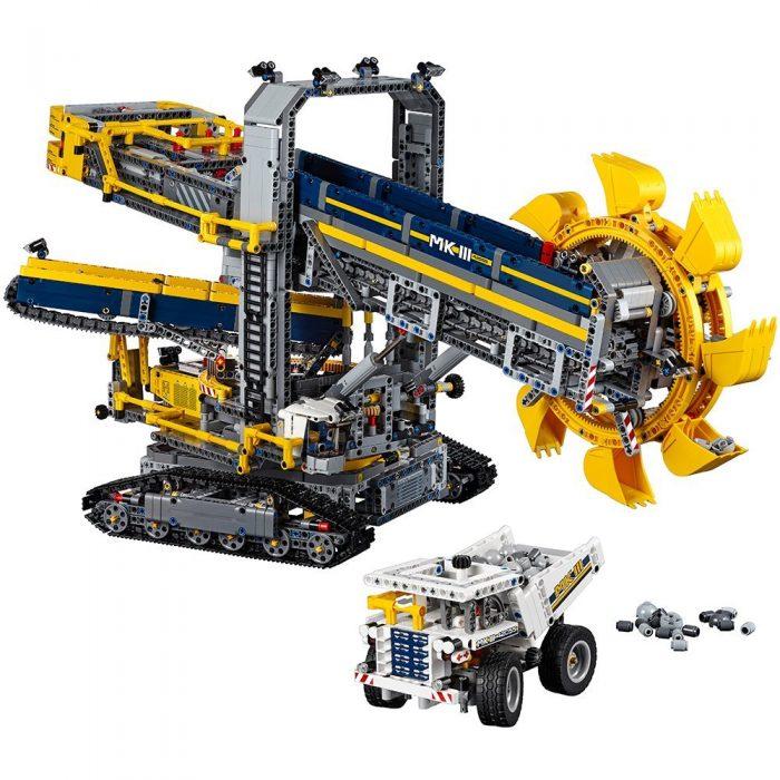 速抢!历史新低!LEGO 乐高 42055 科技旗舰 二合一 斗轮式挖掘机积木套装(3929pcs)5.9折 194.99加元包邮!