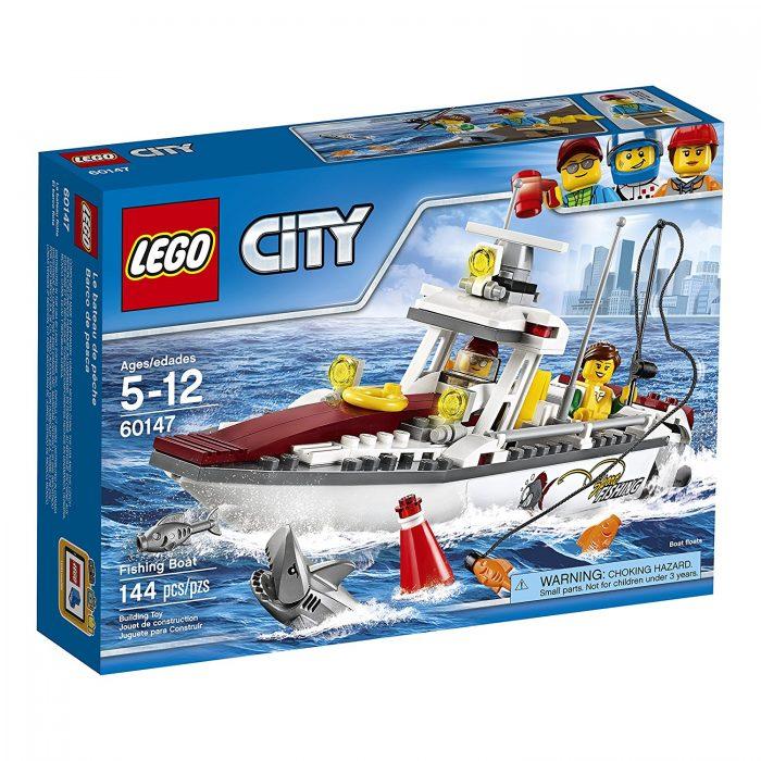 LEGO 乐高 60147 城市系列渔船积木玩具 19.97加元,原价 24.99加元