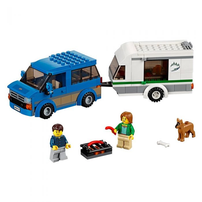 LEGO 乐高 60117 城市系列 大篷车与露营车积木套装 19.97加元,原价 24.99加元
