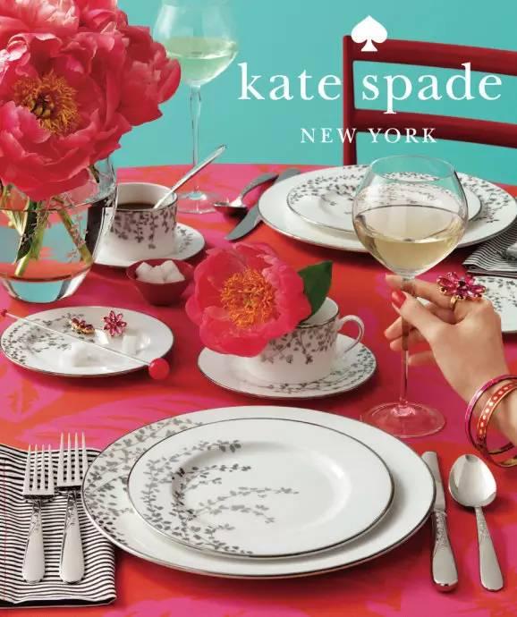 精选 Kate Spade New York 时尚厨房用品 7折特卖!