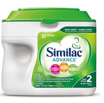 新款 Similac 雅培 advance step 1/step 2 两款 非转基因 婴儿奶粉 27.53加元!