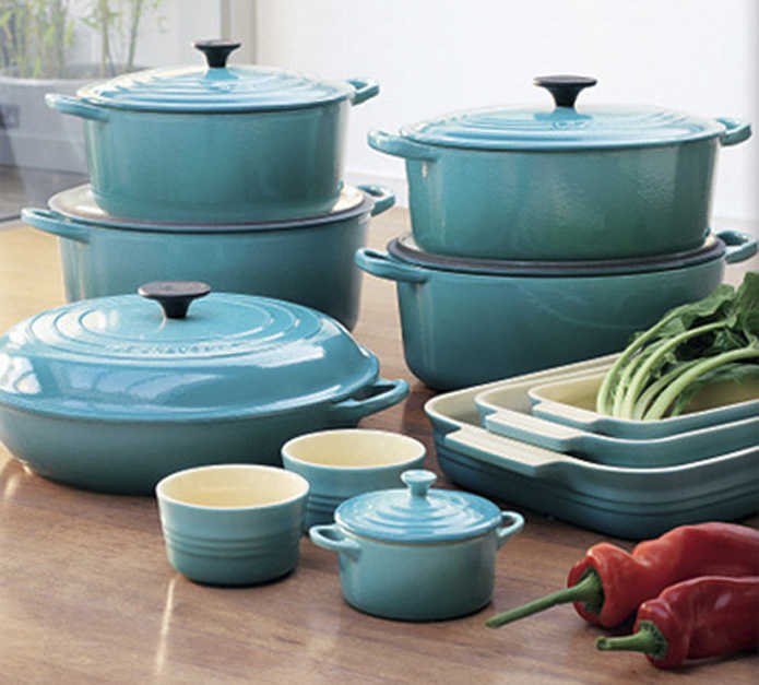厨房中的爱马仕!精选法国厨具品牌 LE CREUSET 珐琅铸铁锅4折起!额外9折!