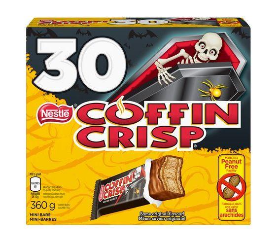 NESTLÉ 雀巢 COFFIN CRISP 巧克力糖 1.62(30个),原价 6.47加元