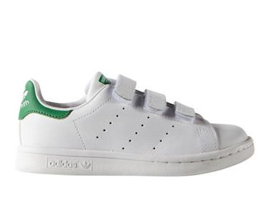 今日闪购!精选 ADIDAS 阿迪达斯 Stan Smith 儿童运动鞋 6.5折特卖,HBC卡享受额外8.5折优惠!