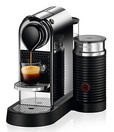 NESPRESSO 雀巢 CitiZ&milk 胶囊咖啡机+奶泡机套装 5.3折 169.99加元包邮(黑色款)!