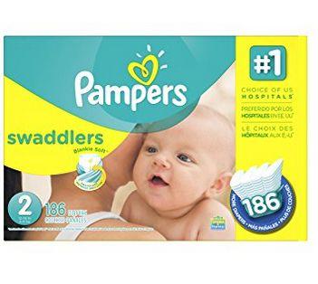 Pampers Swaddlers 纸尿裤 32.42加元(1-6号,100-216片),原价 39.99加元,会员低至26.82加元!