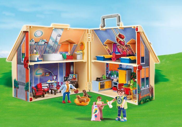 Playmobil Take Along 现代娃娃屋 47.99加元,原价 67.99加元,包邮