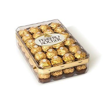 金盒头条:Ferrero Rocher费列罗 钻石礼盒装巧克力(48粒) 12.59加元!仅限今日!