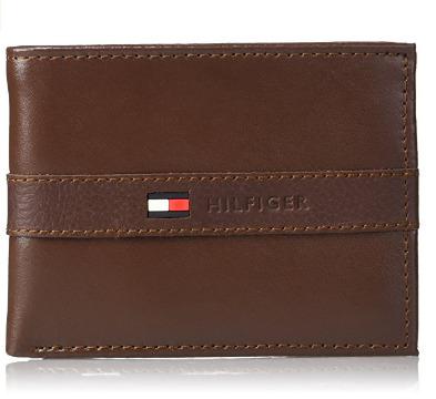Tommy Hilfiger 男士时尚钱包 18.64加元,原价 35.7加元