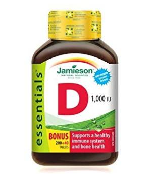 Jamieson 健美生 维生素D片(240片) 5.2加元 ,原价 8.27加元