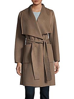 精选 4款 DVF 经典羊毛混纺大衣 337.4加元,原价 780加元