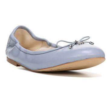 高分评价!SAM EDELMAN Felicia 兰色芭蕾鞋 52.2加元,原价 145加元