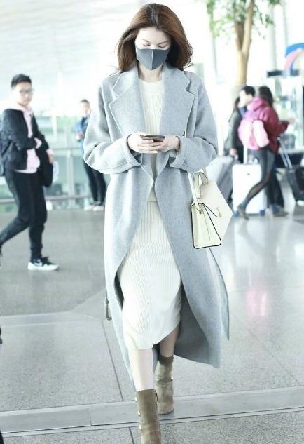 何仙姑街拍同款!Acen Studios 版型超好羊毛大衣,超显气质,优雅动人!