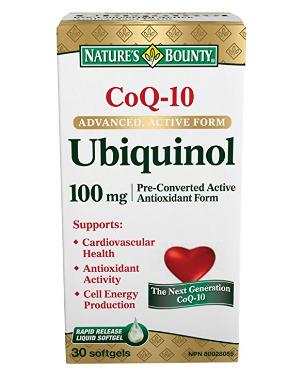 为心血管健康护航!Nature's Bounty 自然之宝 Co Q-10 Ubiquinol 胶囊 30加元,原价 47.04加元