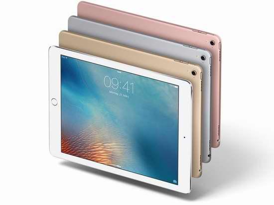 Apple iPad Pro 9.7英寸平板电脑(32GB) 649.99加元包邮!3色可选!